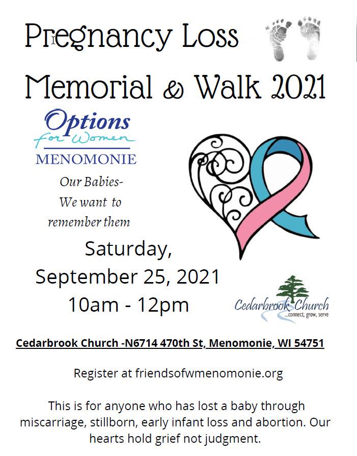 2021 pregnancy memorial walk